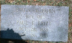 Letitia <i>Hilburn</i> Britt