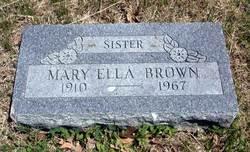 Mary Ella Brown