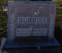 Warrick Price Burriss