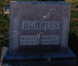 Mary Eliza <i>Doak</i> Burriss