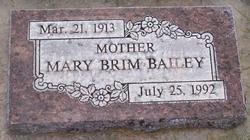 Mary Thelma <i>Brim</i> Bailey