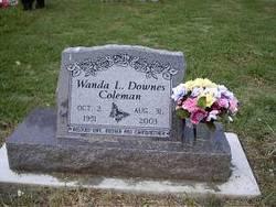 Wanda L <i>Downes</i> Coleman