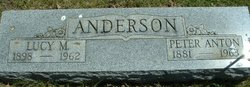 Lucy M. <i>Cornelison</i> Anderson