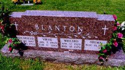 Willard Franklin Blanton