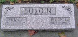 Wilma E. <i>Luce</i> Burgin