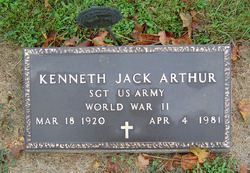 Kenneth Jack Arthur