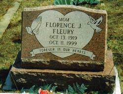 Florence Jean <i>Simpson</i> Fleury