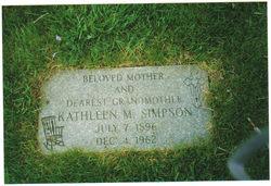 Kathleen Marie <i>Reno</i> Simpson