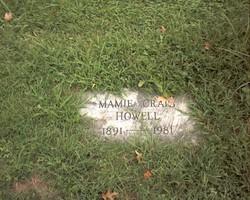 Mamie <i>Craig</i> Howell