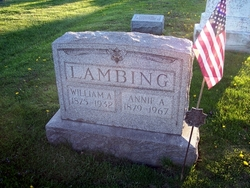 Annie A. <i>Shankle</i> Lambing