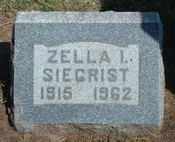 Zella Irene <i>Gordon</i> Siegrist