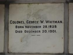Col George Washington Whitman