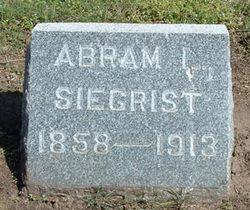Abram Lincoln Siegrist