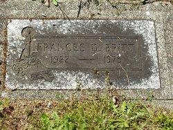 Frances Dorothy Britt