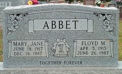 Mary Jane <i>Fender</i> Abbet