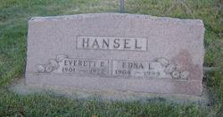 Edna Louise <i>Arthur</i> Hansel