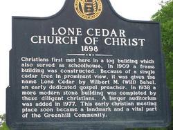 Lone Cedar Church of Christ Cemetery