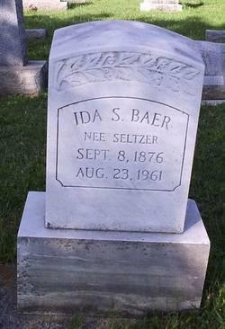 Ida S. <i>Seltzer</i> Baer