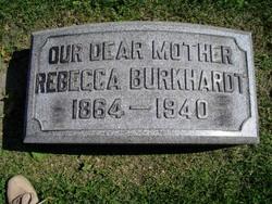 Rebecca Sarah <i>Zahn</i> Burkhardt