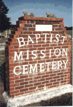 Baptist Mission Cemetery
