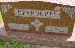 Earl F Deardorff