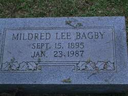 Mildred Lee <i>Keirsey</i> Bagby