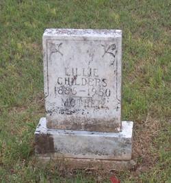 Lillie H. <i>Starks</i> Childers