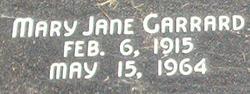 Mary Jane <i>Garrard</i> Bates