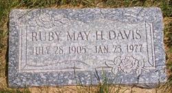 Ruby May <i>Hammond</i> Davis