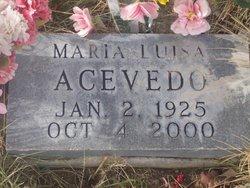 Maria Luisa Acevedo