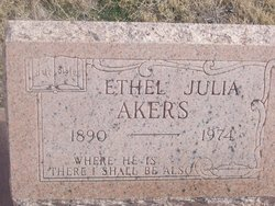 Ethel Julia <i>White</i> Akers