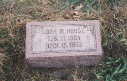 Cora M. <i>Snodgrass</i> Hodge
