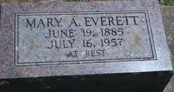 Mary Annie <i>White</i> Everett