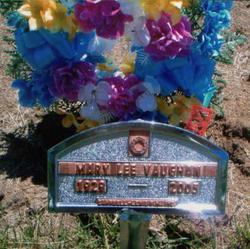Mary Lee Vaughan