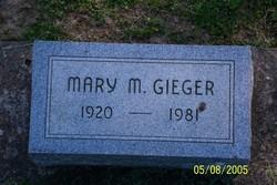 Mary Margaret <i>Ross</i> Hoff Geiger