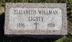 Elizabeth <i>Willman</i> Lighty