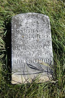 Martha Jane <i>Charles</i> Cooper