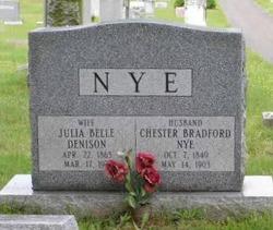 Julia Belle <i>Denison</i> Nye