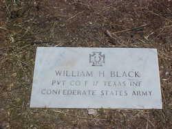 Pvt William H. Black