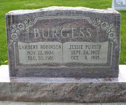 Jessie Mae <i>Purser</i> Burgess