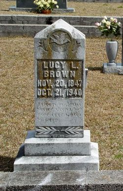 Incy Lavonia Lucy <i>Morgan</i> Brown