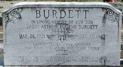 Sgt Arthur Eugene Burdett