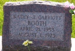 Kathy J. <i>Garriott</i> Booth