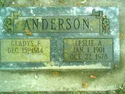 Gladys Fern <i>Wills</i> Anderson