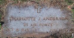 Charlotte J <i>Miller</i> Anderson