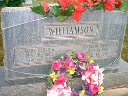 Mary C. <i>Williams</i> Williamson