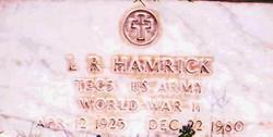 Leonard Rush L.R. Hamrick, Jr