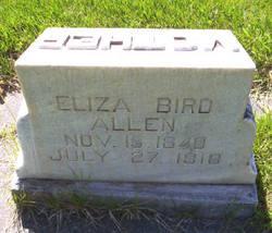 Eliza Bird <i>Lacey</i> Allen