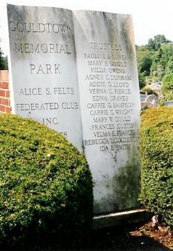 Gouldtown Memorial Park