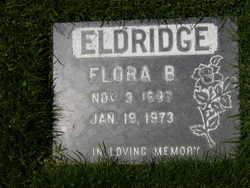 Flora Belle <i>Hollister</i> Eldridge